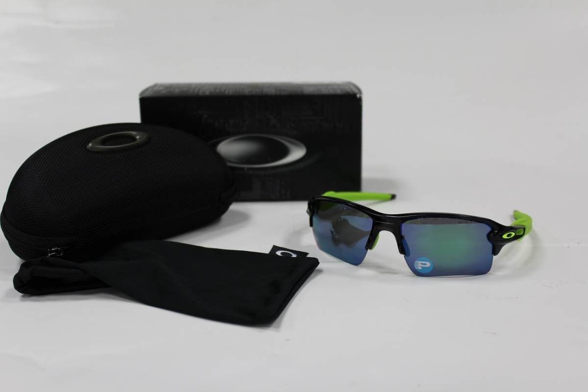 5f2428ab20 OAKLEY FLAK 2.0 XL POLARIZED OO9188-09 Black Ink